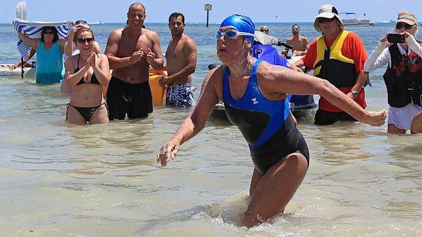 rt diana nyad ll 130909 16x9 608 Diana Nyad to Confront Cuba Swim Skeptics