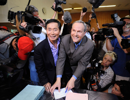 Wedding Bells Ring for California's Same-Sex Couples