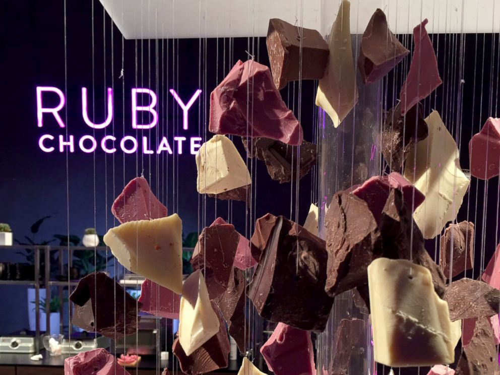 Chocolate gets fourth natural colour -- ruby