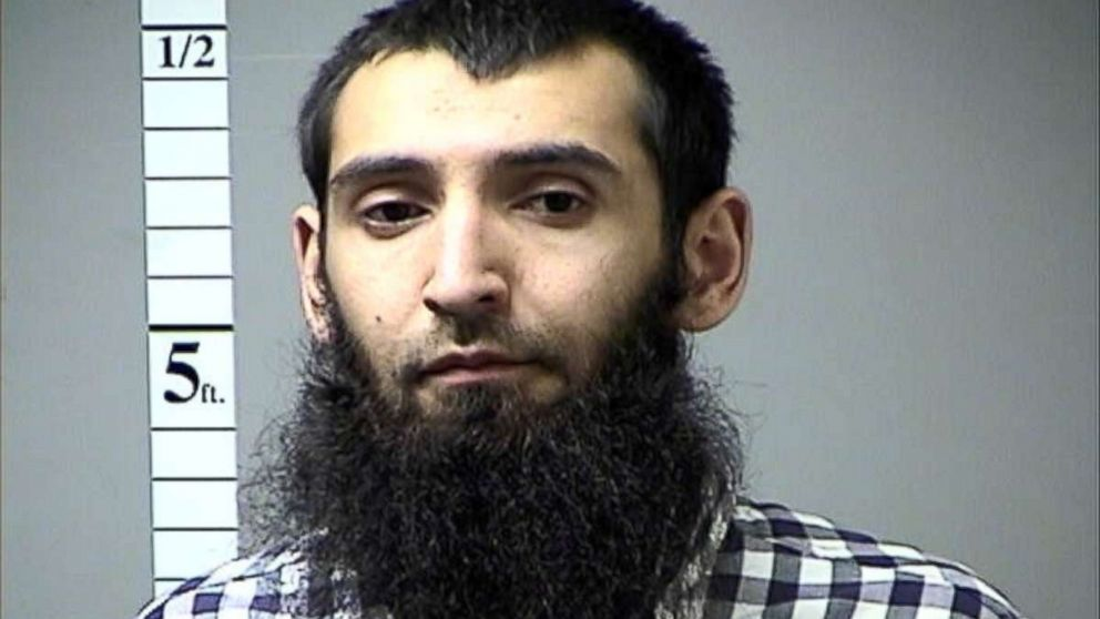 22-count indictment returned against suspect in New York City bike path terror attack