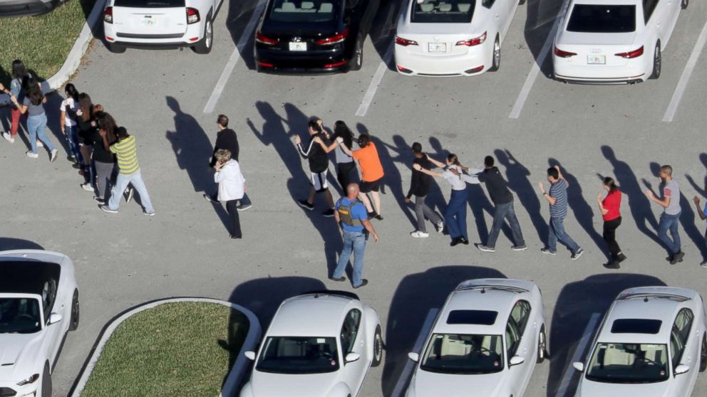 Gun control advocacy groups issue calls to action after 17 killed in school shooting