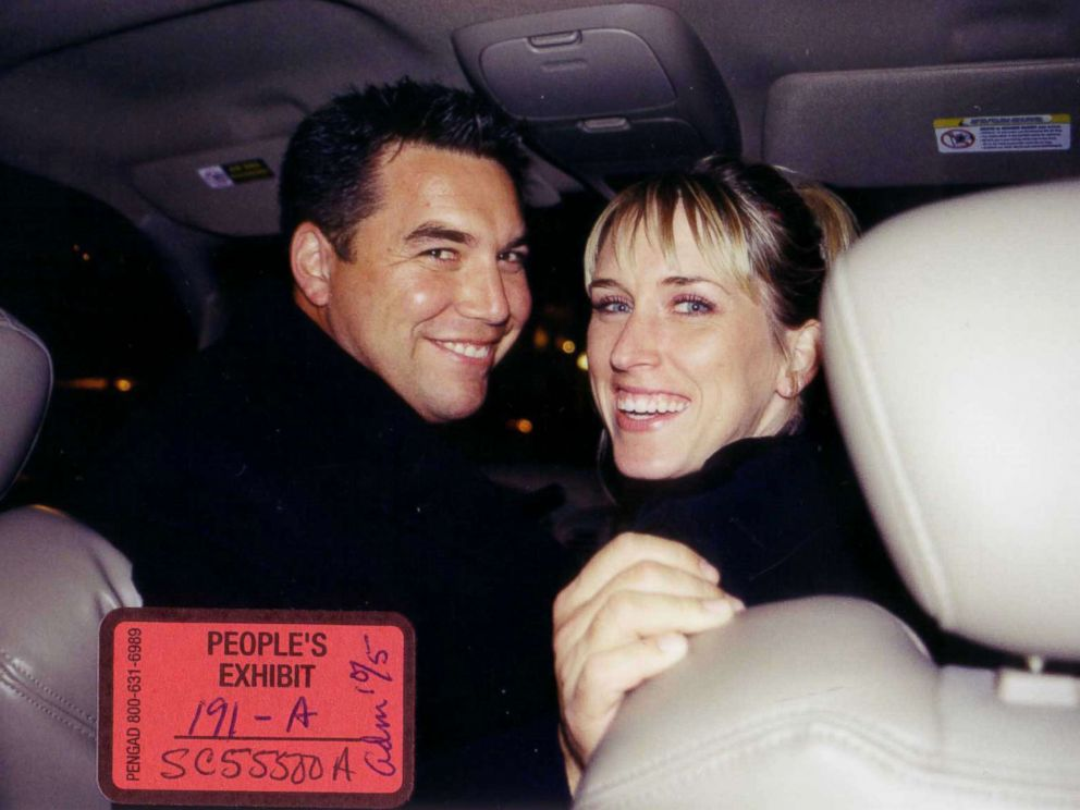 PHOTO: Scott Peterson and his former girlfriend Amber Frey in this undated file photo.