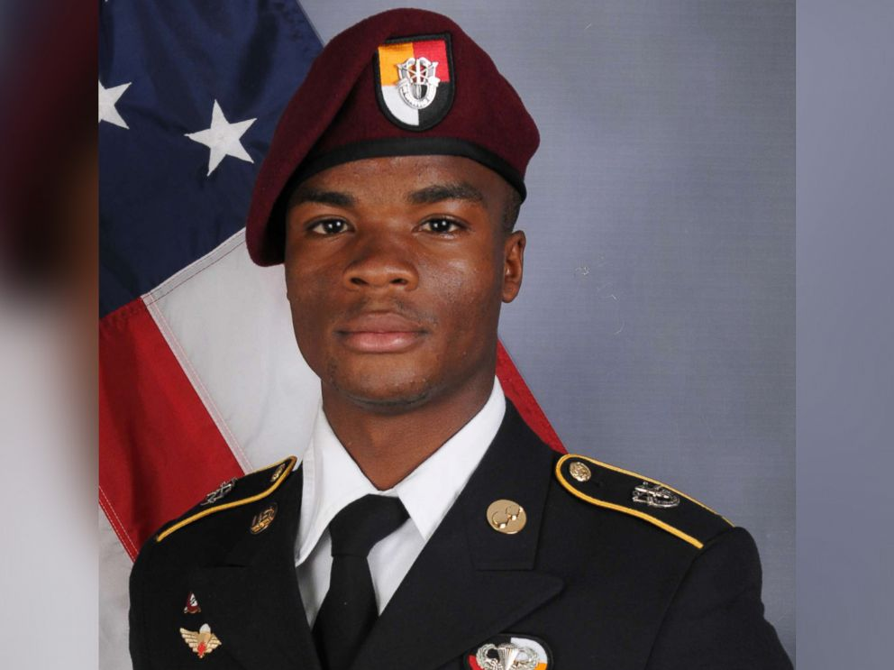 Sgt. La David Johnson's Widow: Trump's Phone Call 'Made Me Cry'