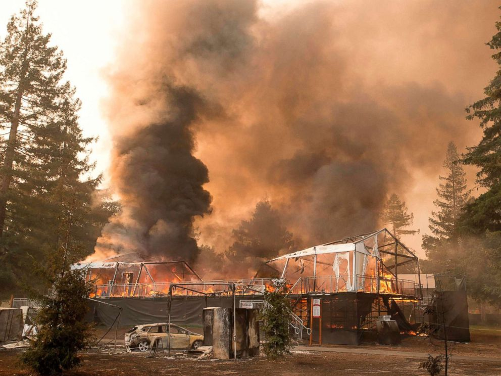 Couple Wednesday  for 75 years dies after California wildfire consumes their home
