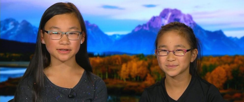 PHOTO: Sisters Rebecca and Kimberly Yeung will join NASA for a space launch project during the solar eclipse.
