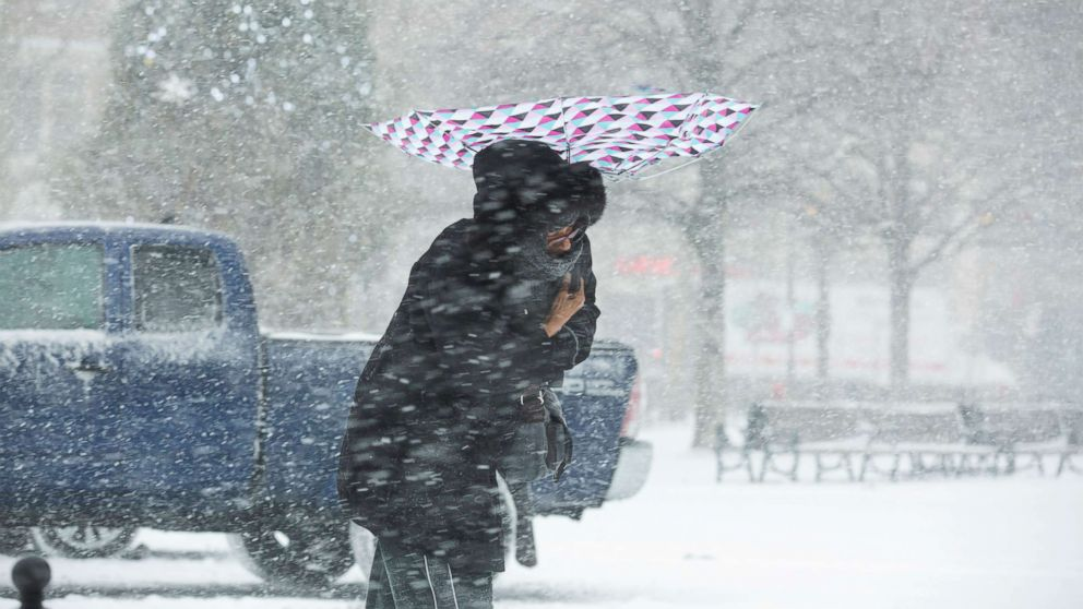 Brutal frigid blast slices across East Coast; record low temperatures possible Sunday