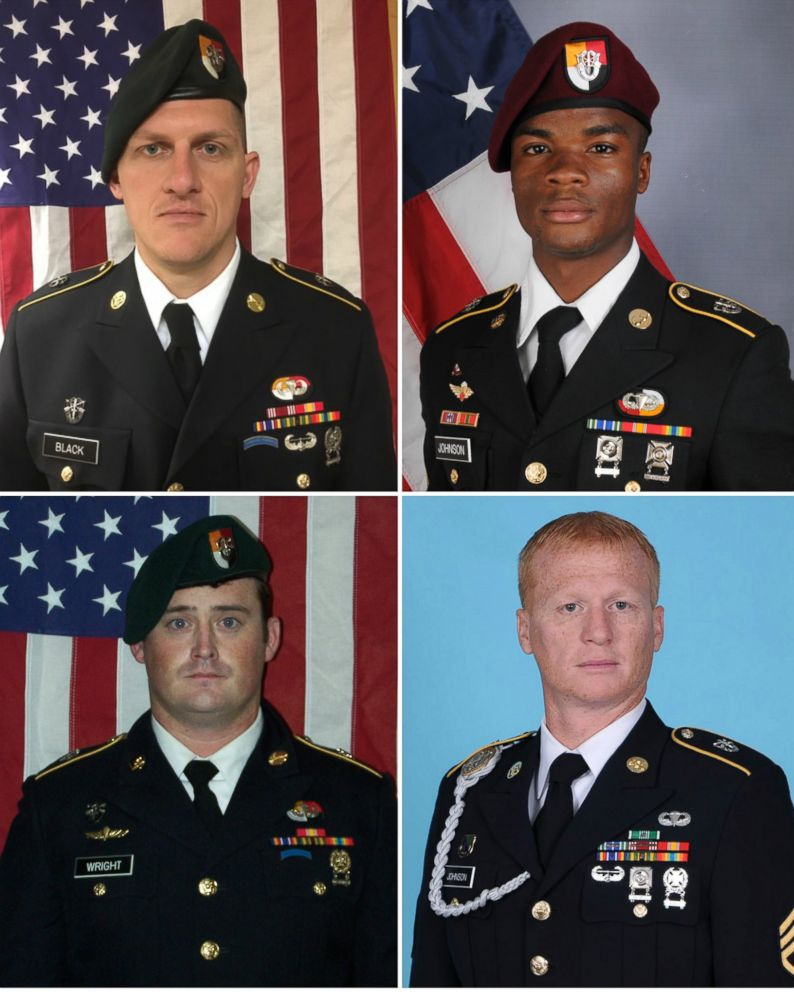 American troops caught in deadly Niger ambush told to proceed despite mission concerns