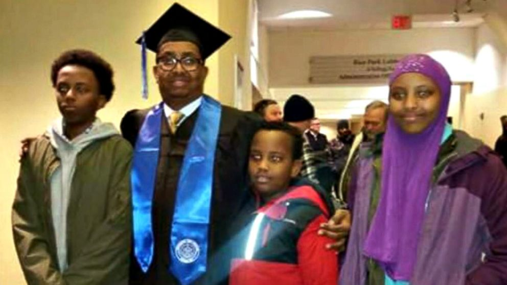 Somali -American father killed in bombing dreamed of building a place that was more than 'war and guns'