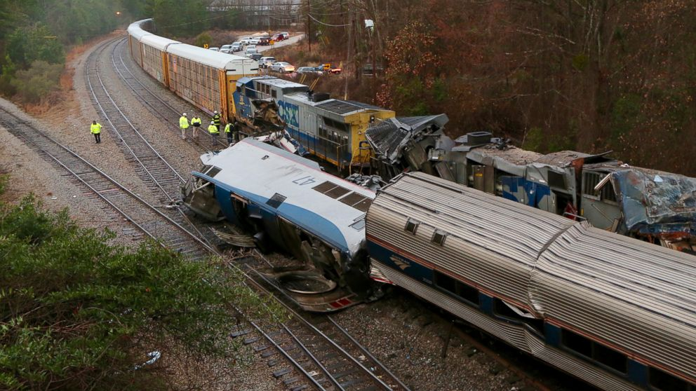 Amtrak passenger train collides with freight train in SC, injuries reported