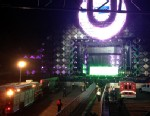 PHOTO: A lighting rig collapsed at the Ultra Music Festival in Miami, Fla., March 14, 2013.