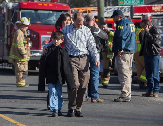 School Shooting at Sandy Hook Elementary in Newtown, Conn.