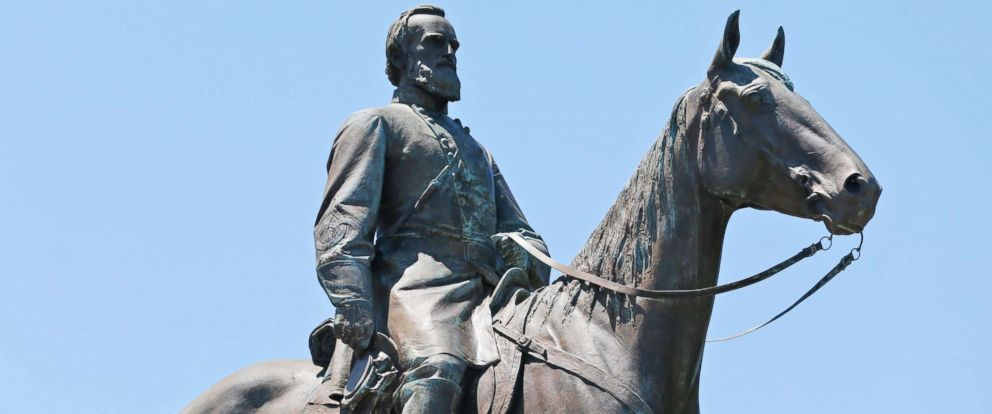 PHOTO: The statue of Confederate Gen. Stonewall Jackson on Monument Avenue in Richmond, Va., June 28, 2017.
