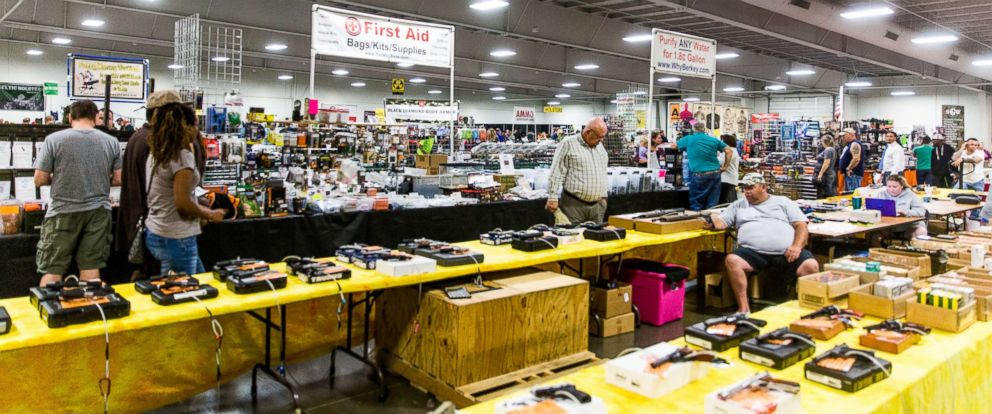 PHOTO: General atmosphere at the Kansas City Survival Expo & Gun Show, Sept. 30, 2017, in Kansas City, MO.