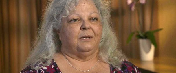 """PHOTO: Susan Bro, the mother of Heather Heyer, who was killed when a car rammed into a crowd of counterprotesters at a white nationalist rally in Charlottesville, Virginia, speaks out in an interview with """"GMA."""""""