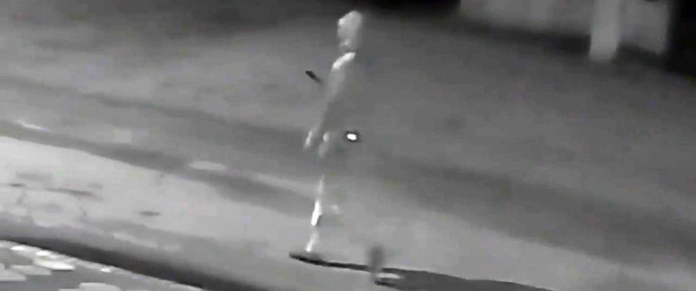 PHOTO: A surveillance video of a person of interest is shown here from Tampa Bay Police Department.