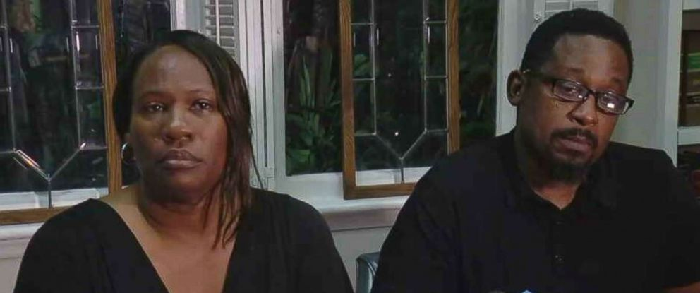 """PHOTO: The parents of suspected Tampa serial killer Howell Donaldson III, Rosita Donaldson and Howell Donaldson Jr., said they were """"devastated"""" at the news of their sons arrest.."""