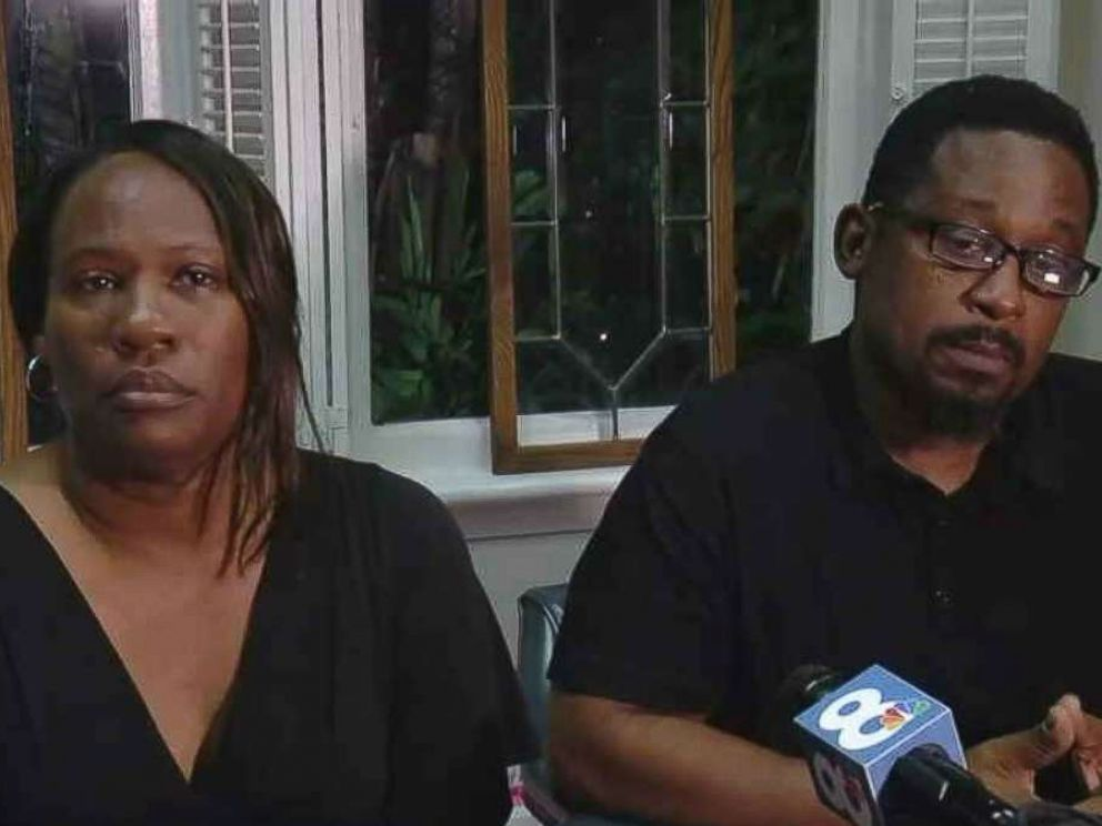 Parents of Florida murder suspect refuse to answer questions