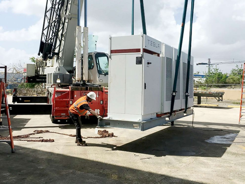 PHOTO: The Hospital del Nino is just one of the solar projects that Tesla says it has planned for Puerto Rico.