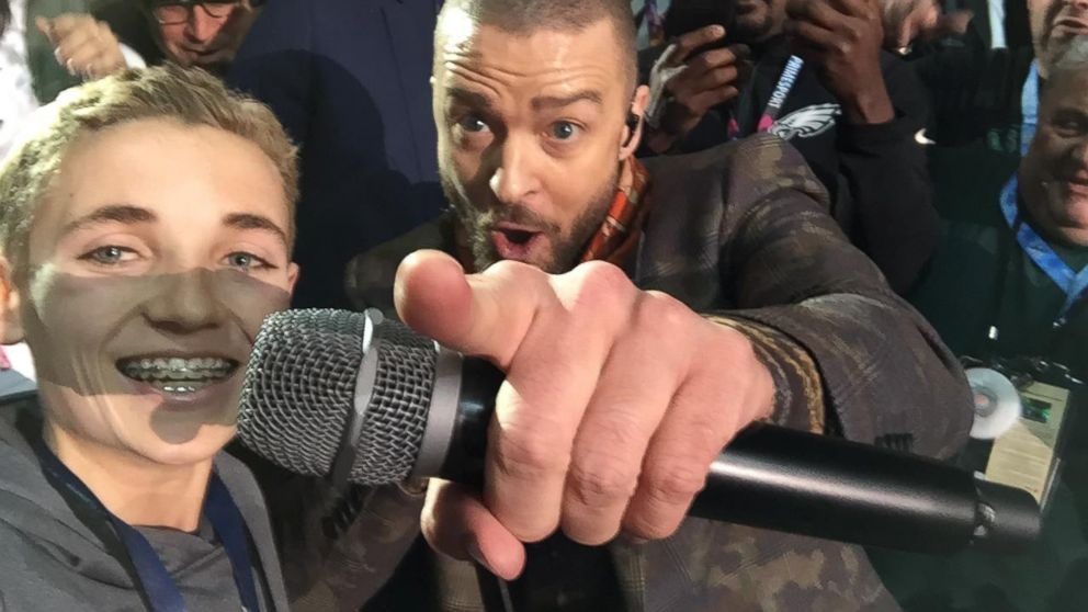 Meet the teen who snapped selfie with justin timberlake at super bo meet the teen who snapped selfie with justin timberlake at super bowl lii m4hsunfo