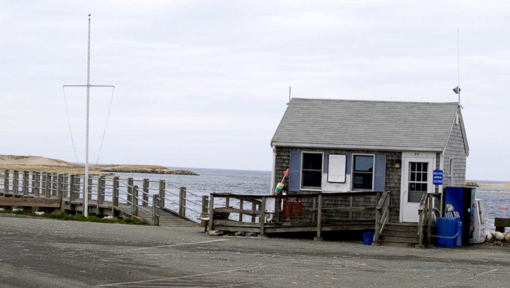 PHOTO: Tony Jacketts office in Pamet Harbor on Cape Cod.