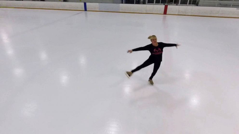 PHOTO: I mean this is my sanctuary, and I dont have anything to escape from anymore, but I just love it so much, Tonya Harding said of the ice rink.
