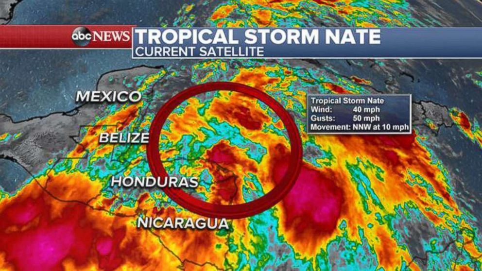 PHOTO: Tropical Storm Nate