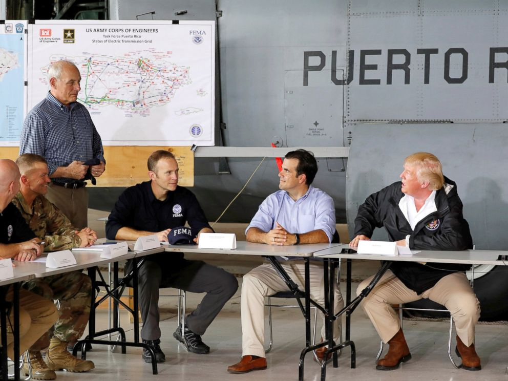Here's why Donald Trump's 'terrific' visit to Puerto Rico offended many