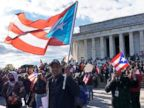 Puerto Rican march in D.C. protests hurricane relief effort