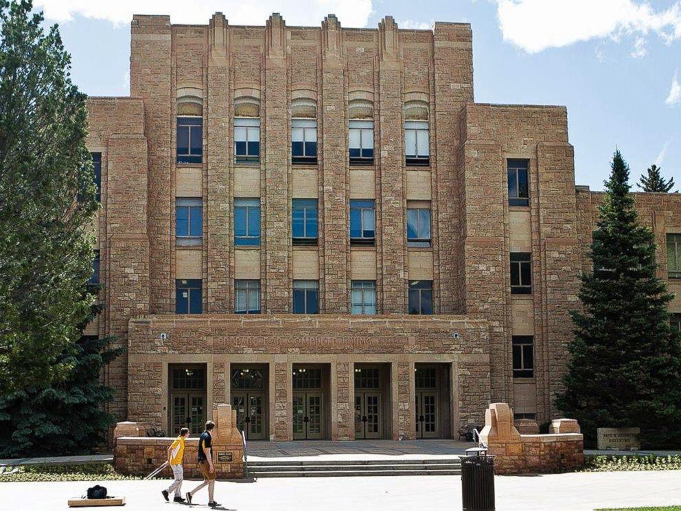 PHOTO: The campus of the University of Wyoming in Laramie, Wyo., June 14, 2016.