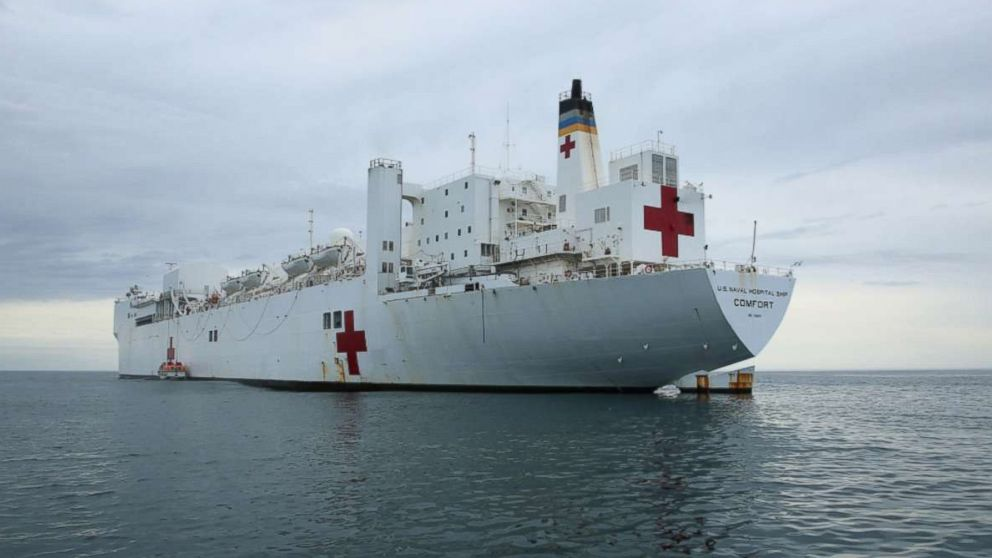 Puerto Rico to get aid from the Navy's 900-foot long floating hospital, the USNS Comfort