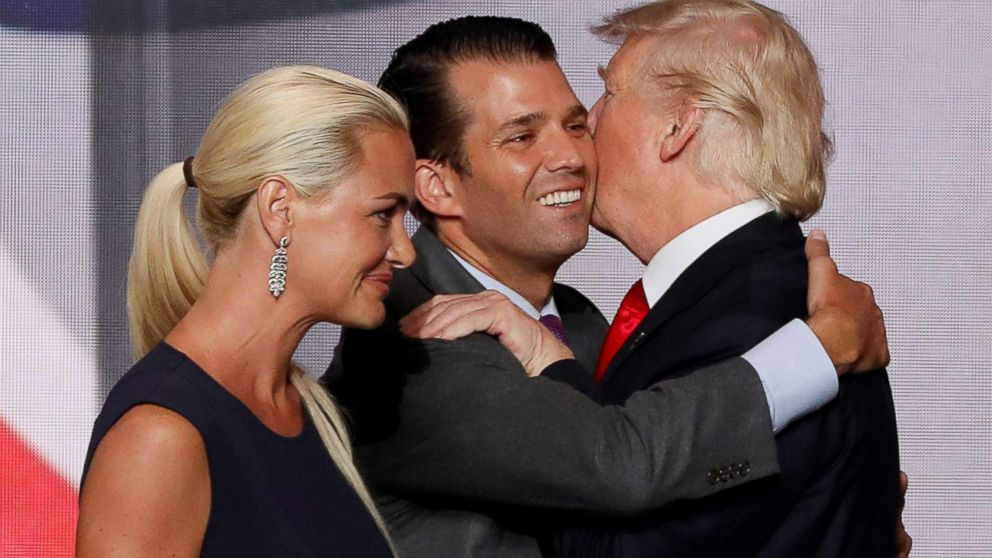 Donald  Trump  Jr ., wife are separating: 'We will always have tremendous respect for each other'