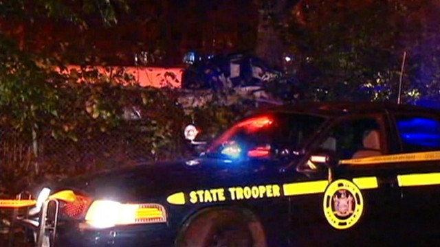 VIDEO: Police believe speeding was a factor in accident on Long Island's Southern State Parkway.