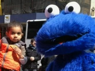 For This Times Square Cookie Monster, C Is for Cops