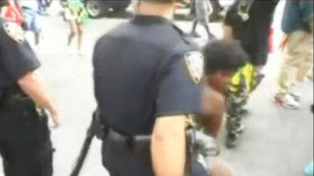 VIDEO: Video shows police officers grinding with dancers at West Indian Day Parade.