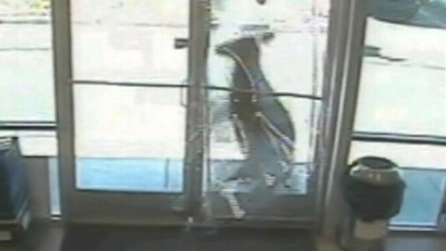 VIDEO: A deer broke through the front door of a Goodwill store in New Jersey.