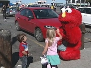 Watch: 'Evil Elmo' Moves to San Francisco
