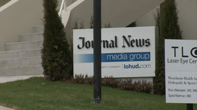 VIDEO: Journal News published names of gun permit holders in the wake of Sandy Hook school shooting.