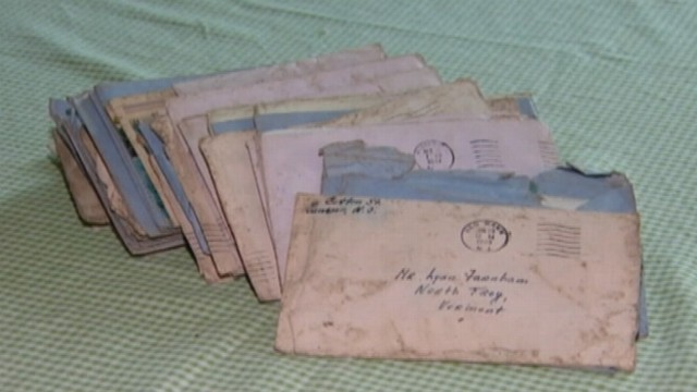 VIDEO: New Jersey woman found bundle of letters from World War II and tracked down the couples family.