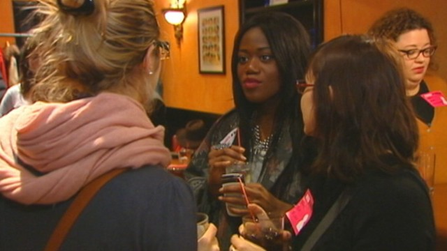 "VIDEO: ""Speed roommating"" events let people meet potential roommates face to face."