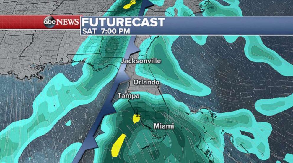 Heavy rain and wind forecast to hammer East Coast on Sandy