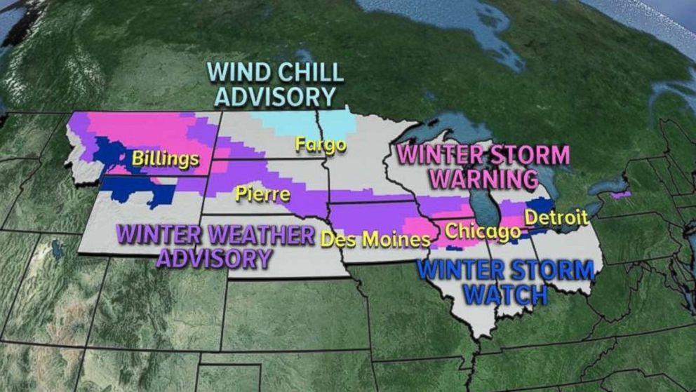 Winter Weather Alerts have been extended to 28 states