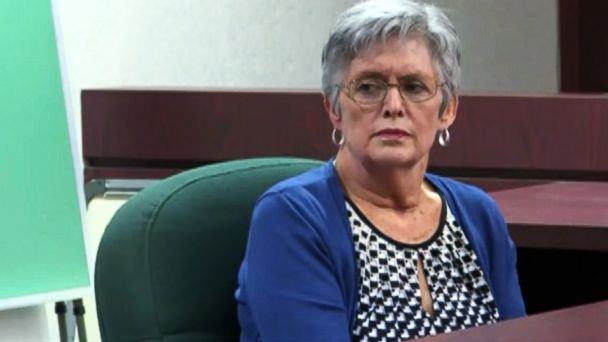 PHOTO: Vivian Reeves, the wife of the man accused in a 2014 Florida movie theater shooting over texting, testifies in a hearing that will determine if Curtis Reeves met the criteria under the state's