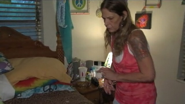 VIDEO: Florida grandmother says suspects own gun went off in struggle.