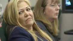 VIDEO: Lillian Gomez was fired for allegedly soaking autistic student's art supplies in hot sauce.