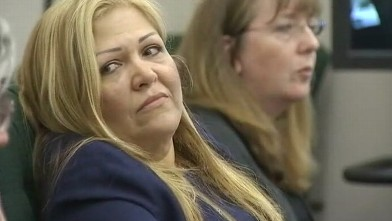 VIDEO: Lillian Gomez was fired for allegedly soaking autistic students art supplies in hot sauce.