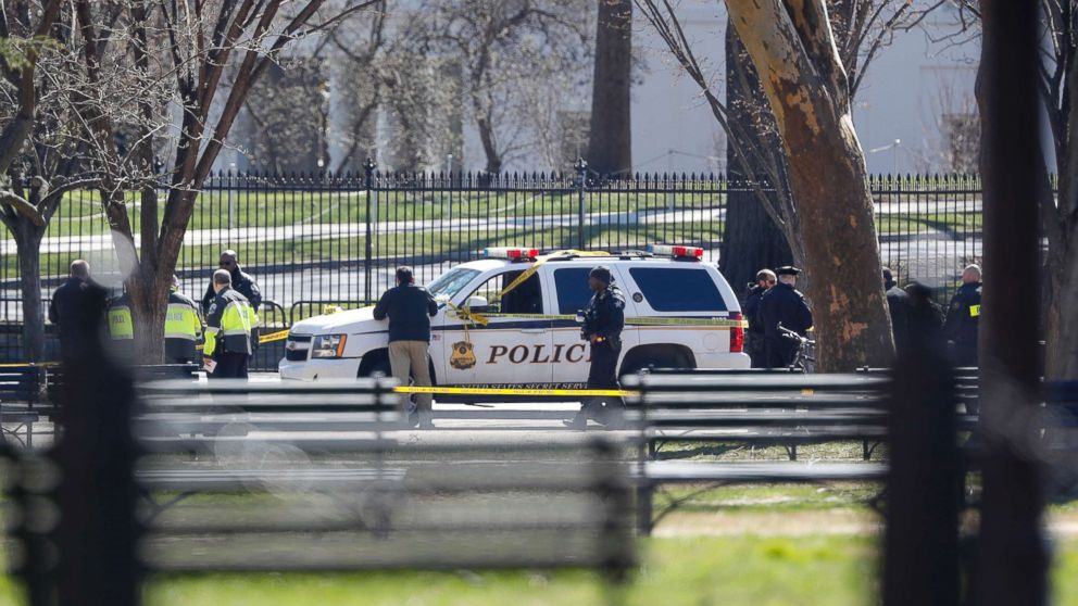 Secret Service Responds To Man Who Shot Himself Near White House