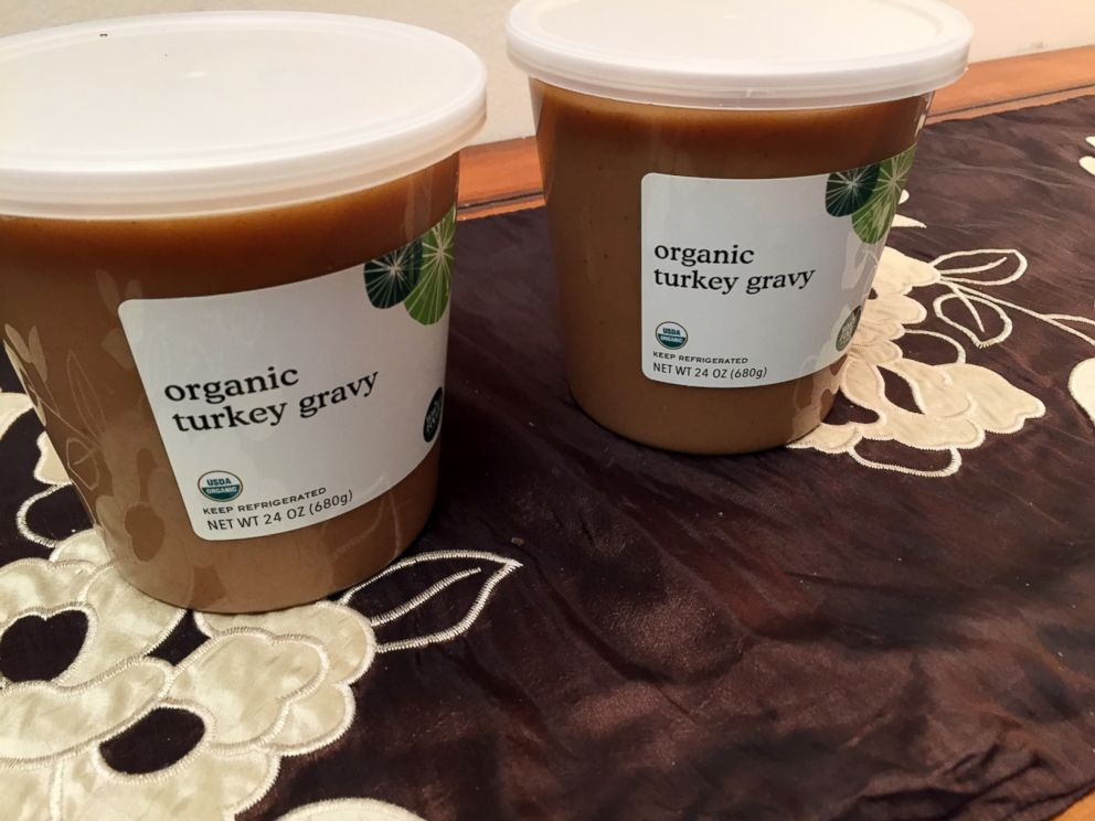PHOTO: The gravy that is included in Whole Foods prepared Thanksgiving meal.
