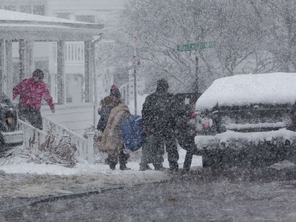 Winter Storm: A Look At The Brutal 'bomb Cyclone' Snowstorm By The