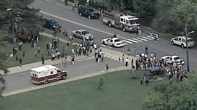 VIDEO: Perry Hall High School student, 17, in critical condition after getting shot on the first day of school.