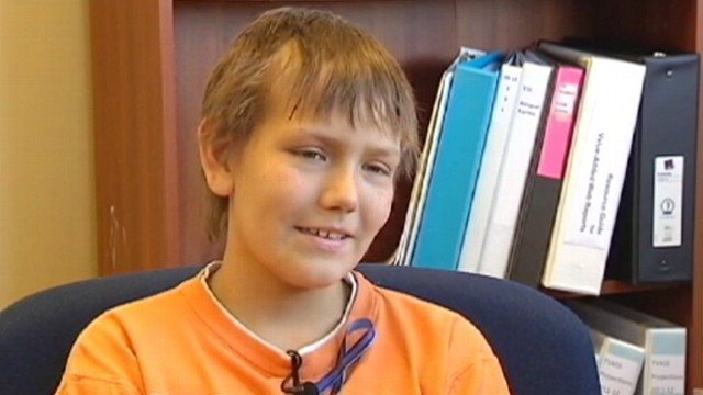VIDEO: Alex Rodriguez, 12, ends treatment after years of fighting rhabdomyosarcoma.